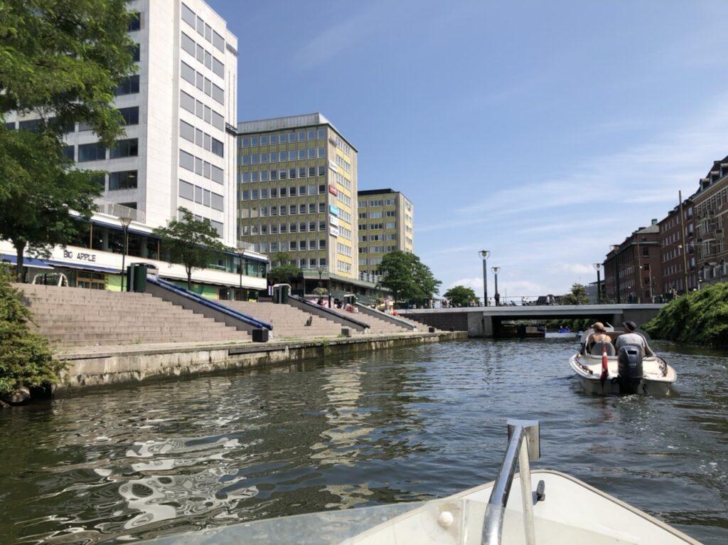 Mopa Malmø kanal